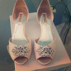 Badgley Mischika bridal shoes